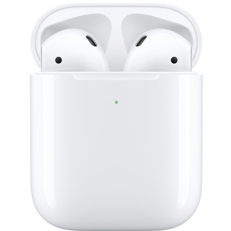 Apple AirPods 2 con Wireless Charging Case Bianco